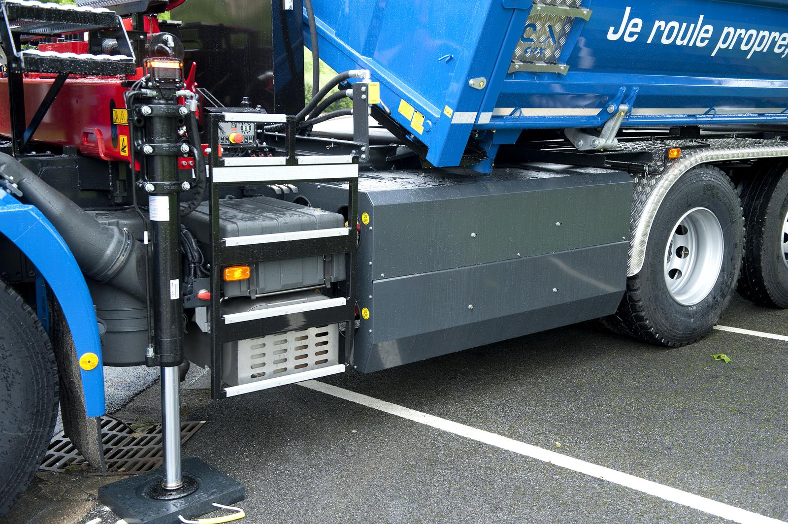 Location de camion benne grue biogaz groupe noblet - Location camion benne ...