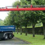 camion benne grue biogaz